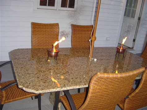 Granite Patio Tables Granite Patio Table Contemporary Patio Other Metro By Marble Doctors Llc
