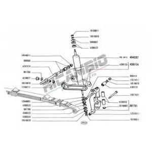 Fiat Bravo Suspension Front Shock Absorber Original Classic Fiat 500 126