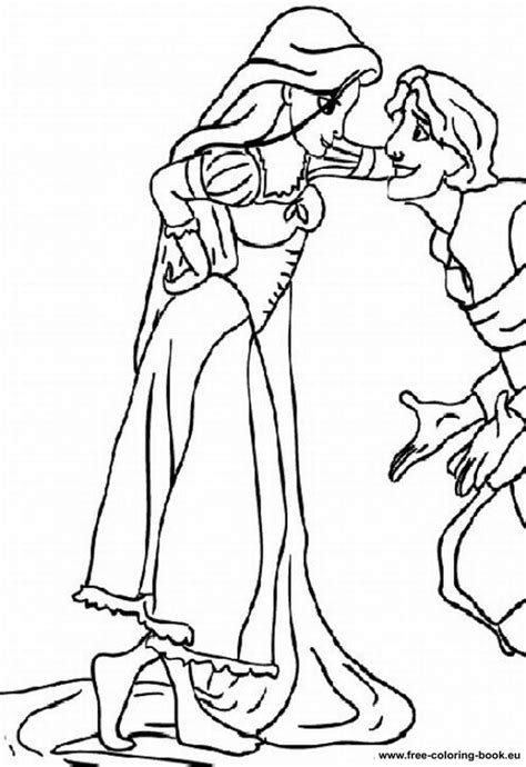 tangled coloring pages pdf coloring pages tangled disney rapunzel page 1