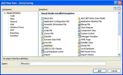 unity tutorial ioc unity framework tutorial c asp net vb net