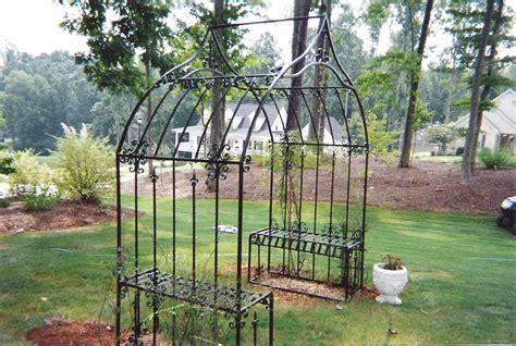 Iron Garden Arbor Gate Garden Patio And Porch Decor Ideas