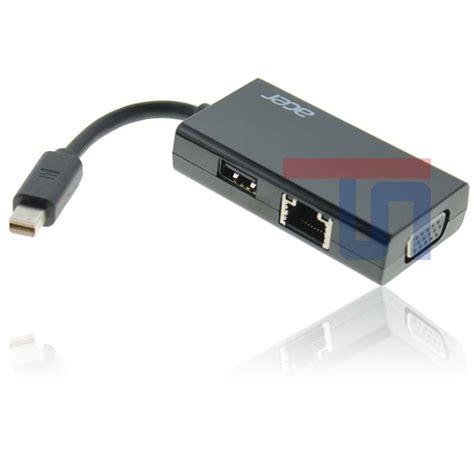 Adaptor Acer V5 lan netzwerk usb vga adapter anschluss connector converter acer aspire r7 s3 v5 ebay