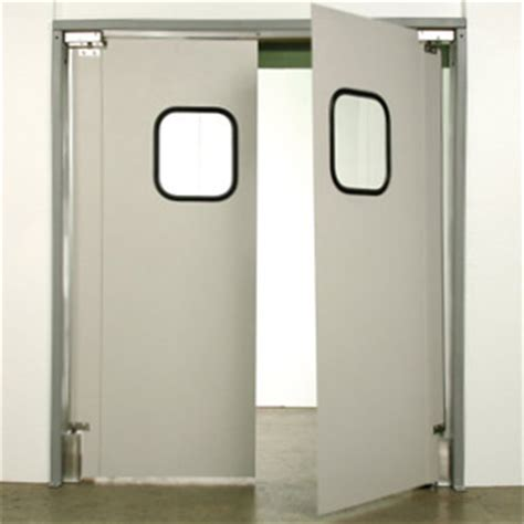 industrial swing doors swinging impact doors for industrial traffic door