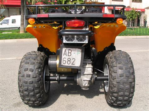 quad motor  differential