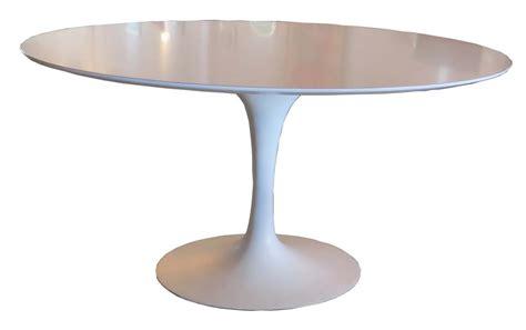 Saarinen Table by Saarinen Oval Tulip Table Modernism