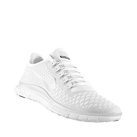 Nike Free Running White nike free run id all white amazing shoes
