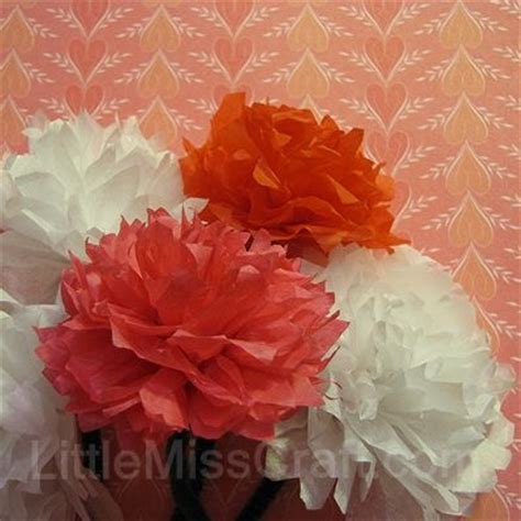 Handmade Flowers From Tissue Paper - 10 best images about diy tissue paper flower crafts on