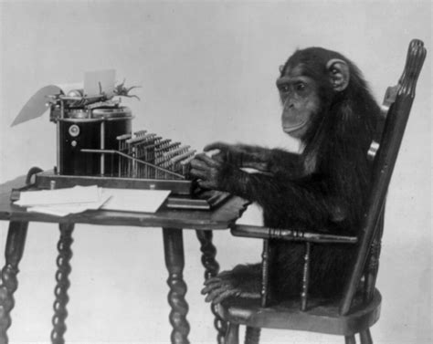 Writing Desk White Infinite Monkey Theorem Wikipedia