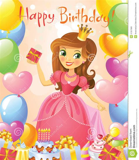 imagenes lindas para una princesa feliz cumplea 241 os princesa tarjeta de felicitaci 243 n