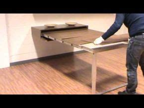 mesa consola extensible pata giratoria youtube dining table design tiny house furniture