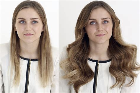 hair extensions before and after thin hair long hairstyles before after estelles secret