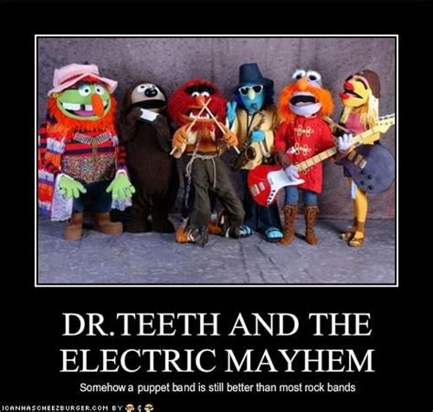 The Electric Meme - dr teeth and the electric mayhem halloween costumes the