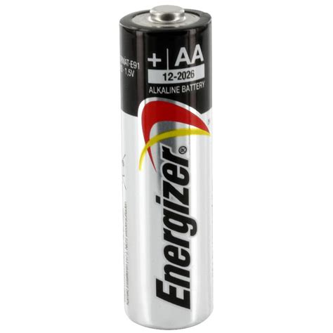 Energizer L by Biomedical Energizer Aa Alkaline Battery Electrodes