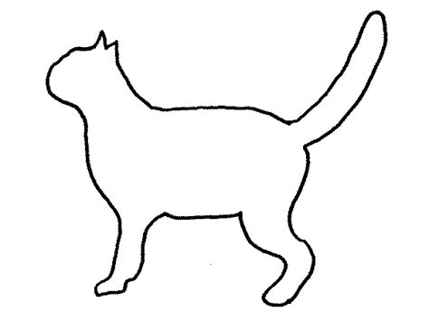 coloring book views cat outline caitlyn clipart best clipart best