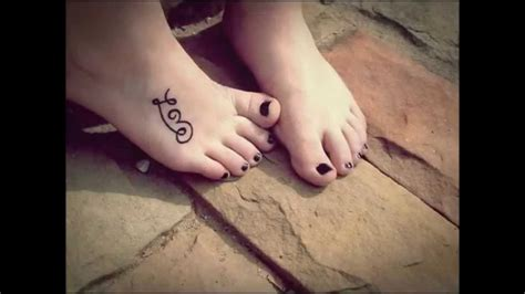 small foot tattoos for girls designs foot