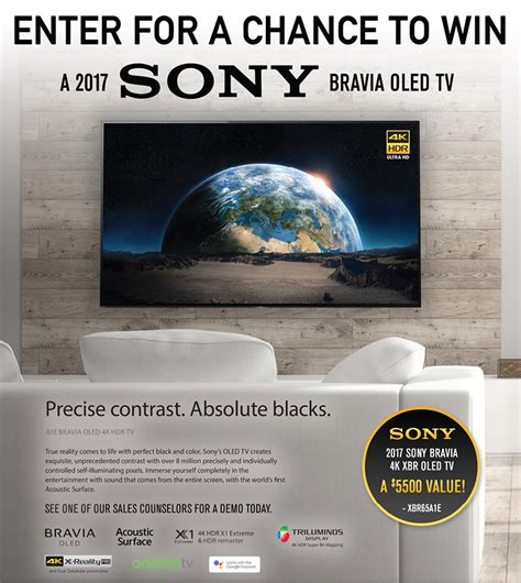 Pc Richards Sweepstakes - p c richard son sony oled tv sweepstakes
