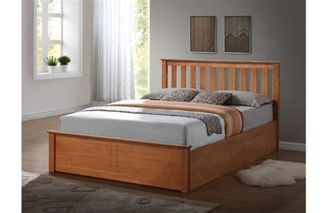 small double ottoman bed birlea phoenix 4ft small double oak ottoman lift wooden