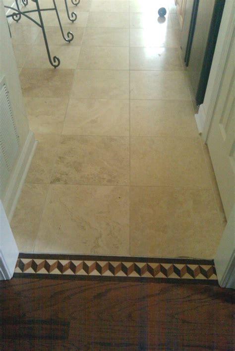 tile to wood floor transition ideas homesfeed cream color floor tile to wood transition ideas pmaaustin com