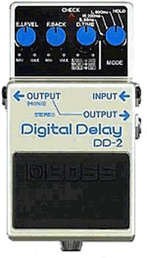 dd 2 digital delay guitar pedal schematic diagram