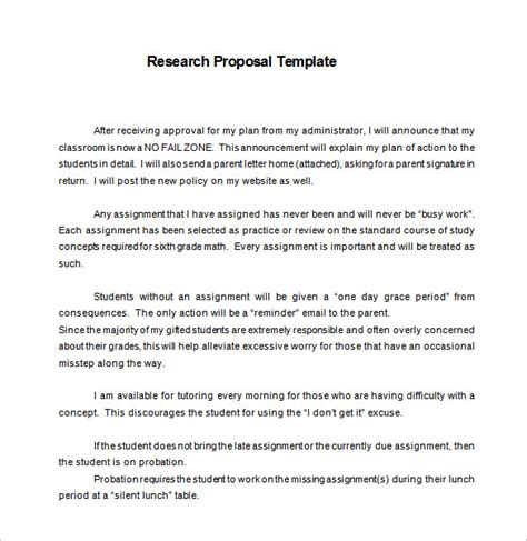 13 Research Proposal Templates Doc Pdf Excel Free Premium Templates Research Plan Template
