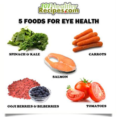 foods for better eyesight healthy recipes 101