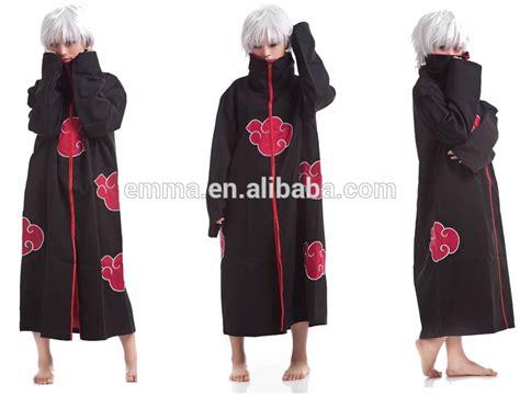 Jubah Akatsuki Uchiha Itachi 8 sasuke uchiha madara akatsuki jubah orochimaru berkualitas tinggi pakaian kostum