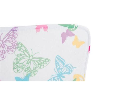 alfombra de poliester mariposa