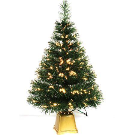 artificial christmas trees at wal mart time pre lit 32 quot fiber optic artificial tree walmart