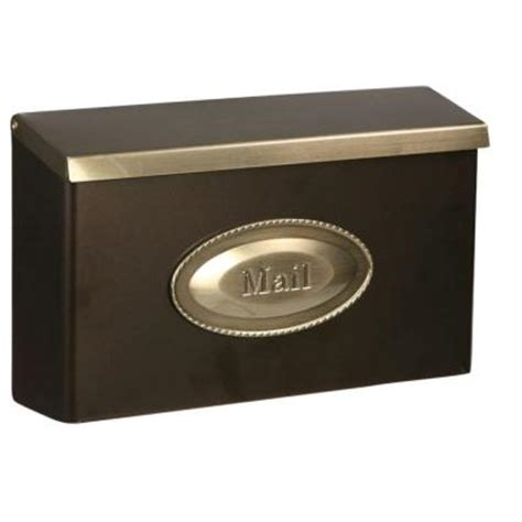 Decorative Wall Mount Mailboxes by Gibraltar Mailboxes Designer Large Galvanized Steel