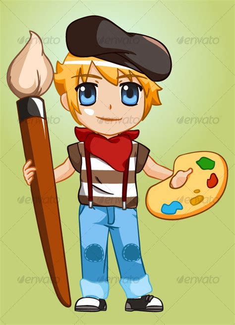 painter boy by petshopbox graphicriver