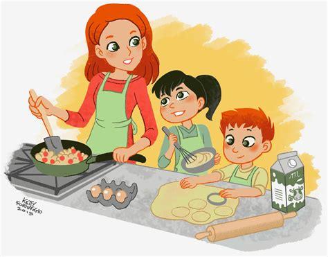bimbi cucinano ketty formaggio mamma e bimbi giocano e cucinano