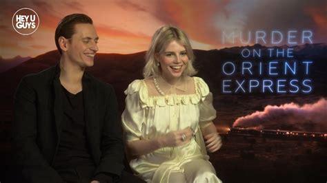 film love on the orient express exclusive sergei polunin and lucy boynton on murder on