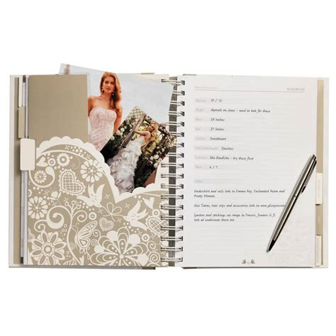 wedding planner book buy from prezzybox