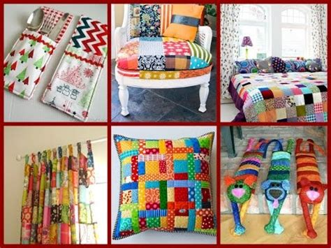 Patchwork Materials - top 30 diy patchwork ideas room decor from recycled