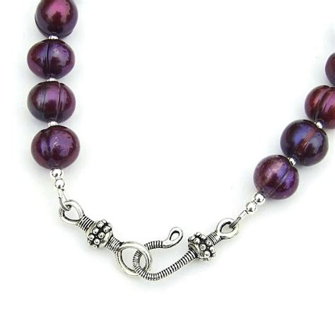 Pearl Handmade Jewelry - of pearl pendant necklace purple pearls