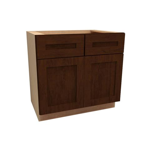 Kitchen Cabinet Bases Assembled 60x34 5x24 In Sink Base Kitchen Cabinet In Unfinished Oak Sb60ohd The Home Depot