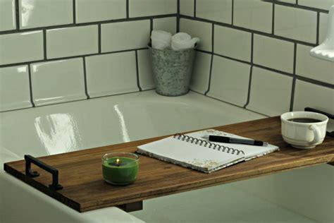 Diy Bathtub Tray Table Bathroom Remodel Project Knick
