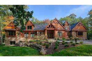 1 5 Story Craftsman House Plans Craftsman 1 Story Retreat Open Floor Plan Hwbdo76114 Craftsman From Builderhouseplans