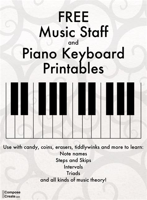 keyboard beginner tutorial pdf free piano keyboard pdf plus music staff pdf to use with