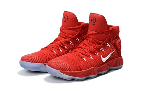 Cheap Comfort Shoes Nike React Hyperdunk 2017 Flyknit Red White For Sale