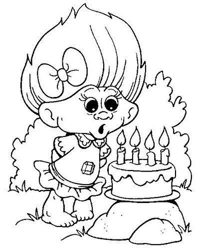 juegos de pintar dibujo sumar y colorear dibujos de trolls para imprimir y colorear blogitecno