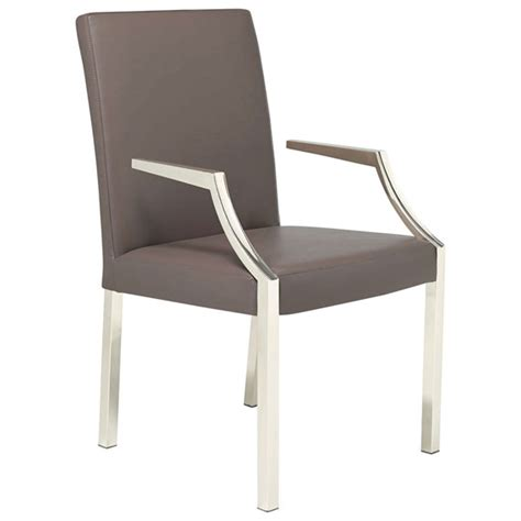 Dining Chair With Arms Park Leather Dining Chair With Arms Oka