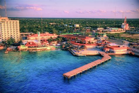 cozumel port the island of cozumel in mexico mexico travel guides