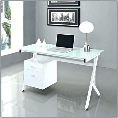 White Glass Desk by 25 Photo Of Ikea White Office Desk
