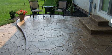 Cost Of Building A Covered Patio Concrete Patio Columbus Ohio Stamped Concrete Patios