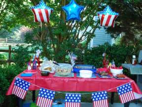 cookout decorations 4th of july decoration
