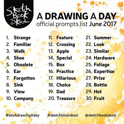 sketchbook episode list best 25 sketchbook prompts ideas on