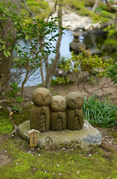 garten steinfiguren japanischer garten das wunder der zen kultur