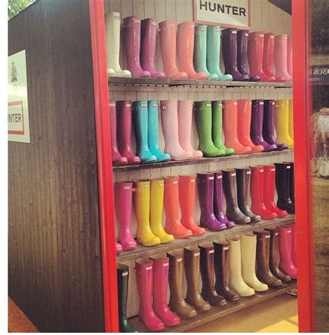 Is It Really Still Raining Wellies For Weather by Be Still My I Need That Entire Shelf Of Wellies I