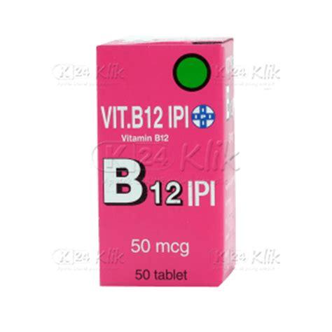 Vitamin C Dari Ipi jual beli vitamin b12 ipi tab 50s k24klik